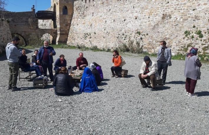 Bozcaada'ya günübirlik gelen yerli turistler geri gönderildi