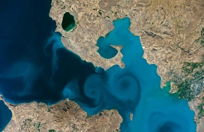 Van Gölü yarışmasında, NASA'nın sitesi çöktü