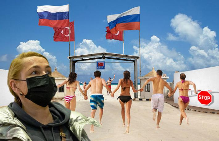 1 milyon Rus turist mağdur oldu!