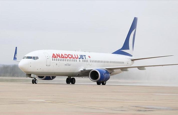 Sırbistan, AnadoluJet'in uçuşlarını durdurdu