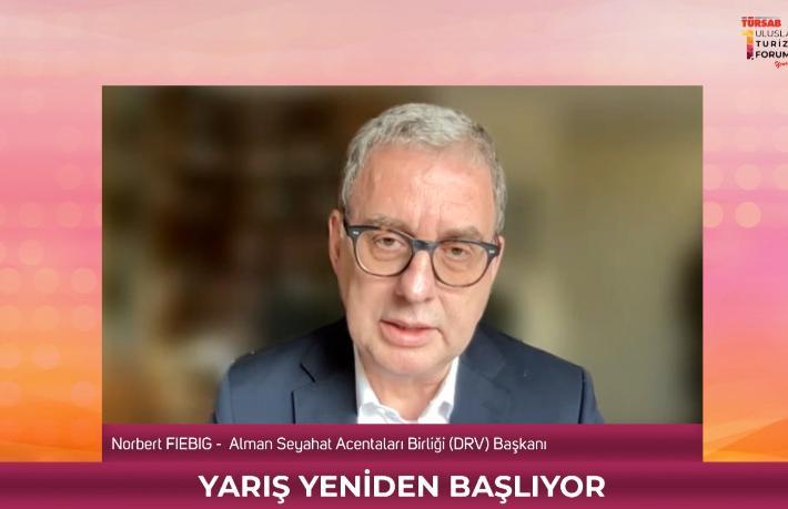 Norbert Fiebig: Almanların çoğunluğu tatillerini Türkiye'de geçirmek istiyorlar