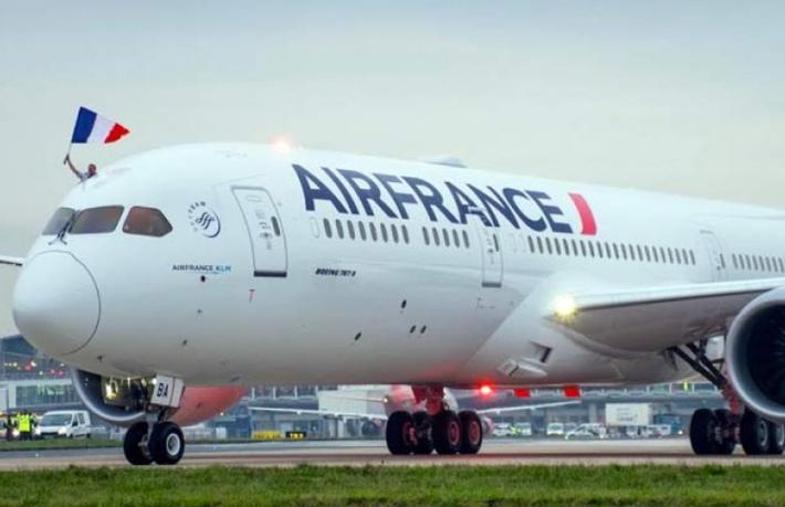 Çin, Air France'ın Paris-Shanghai uçuşlarını askıya aldı