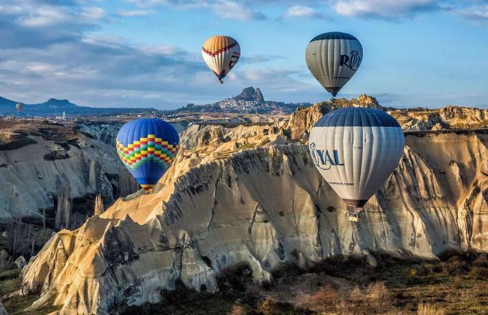 Kapadokya'nın Nisan ayı turizm karnesi: 74 bin turist