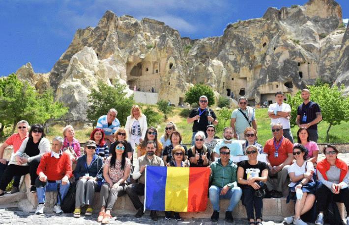 Kapadokya, Romanyalı 32 acenteye tanıtıldı… Hayran kaldılar