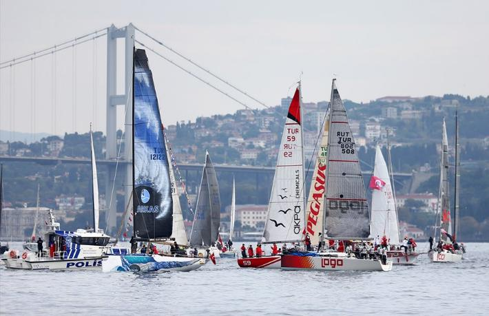 Cumhurbaşkanlığı Uluslararası Yat YarışlarıGalataport İstanbul'da yapılacak