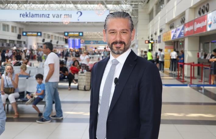 Antalya'ya 1 haftada 80 bin turist geldi