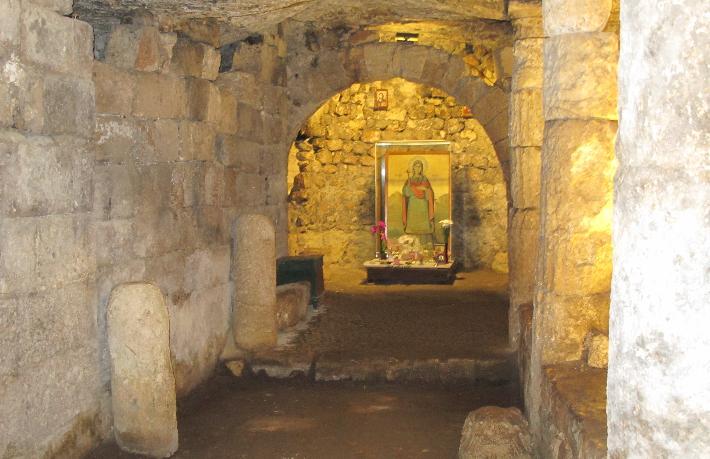 Silifke'de Hristiyanlık dünyasının bir Haç merkezi... Aya Tekla Kilisesi...