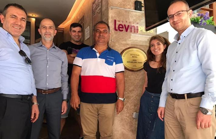 Levni Plus Hotel, Özel Konaklama Belgesi aldı
