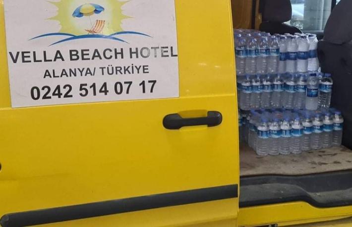 Vella Beach Hotel'den örnek duyarlılık