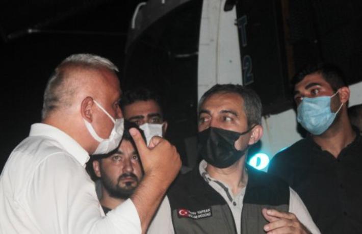 Bakanı Ersoy: Yangın yerleşim yerlerinden uzakta