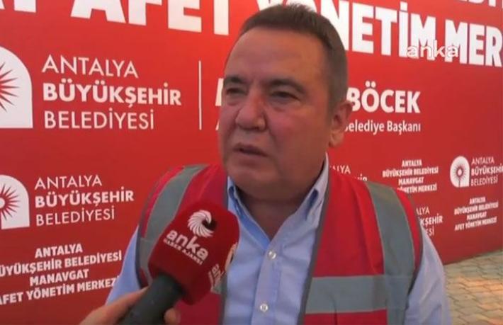 Başkan Böcek'ten 'Antalya' çağrısı: Yanıyoruz, bizi kurtarın