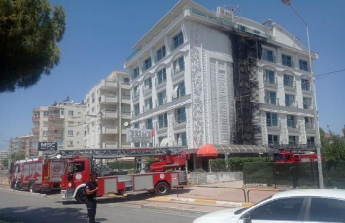 Antalya'da 5 yıldızlı otelde yangın... Müşteriler tahliye edildi