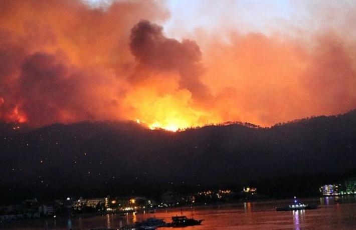 Yangın bölgelerinin belediye başkanları son durumu anlattı