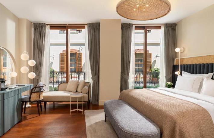 İstanbul'un en yeni oteli Galata'da açıldı