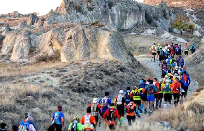Dev etkinlik başlıyor... Kapadokya 3 bin sporcu ağırlayacak