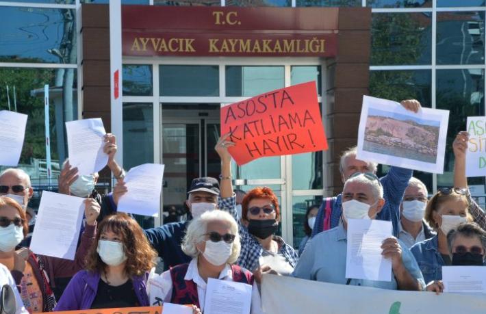 Çanakkale'de 'Assos' eylemi… Assos, turizme ve marka değerine kurban mı ediliyor?