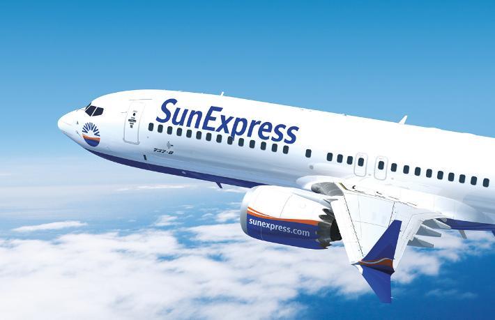 SunExpress Antalya ve İzmir'i o kente bağlayacak