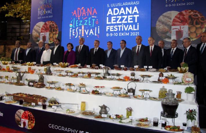 5. Uluslararası Adana Lezzet Festivali yapıldı