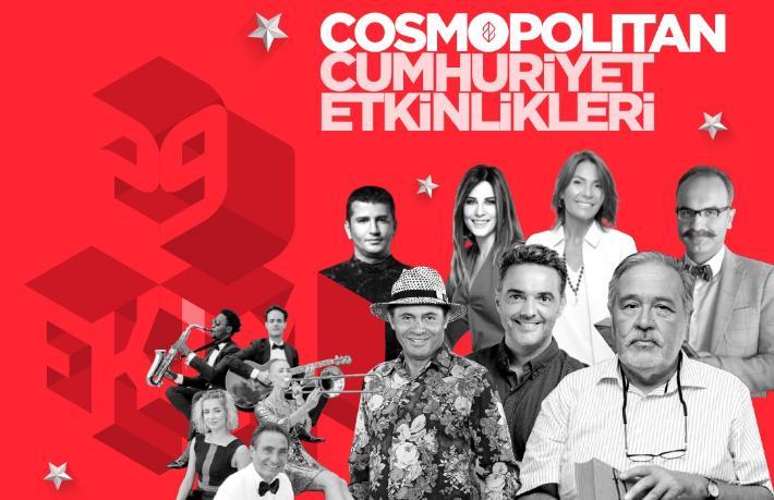 Jolly ve Nirvana Cosmopolitan'dan Cumhuriyet Etkinlikleri