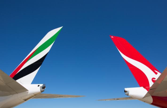 Emirates ve Qantas ortaklıklarının kapsamını genişletti