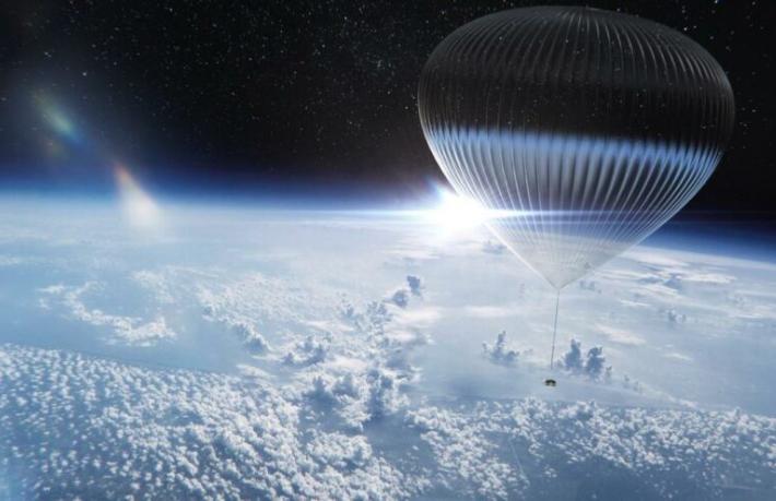 Balonla uzay seyahatinin fiyatı: 50 Bin Dolar