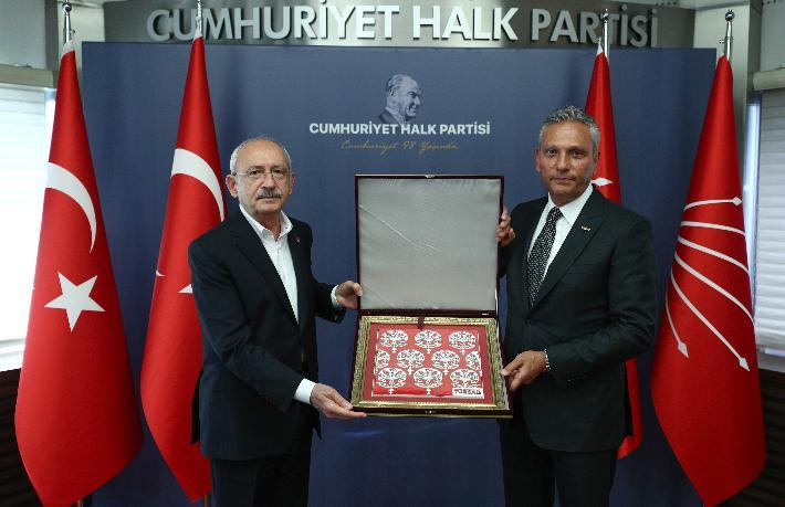 CHP, TÜRSAB heyetini kabul etti