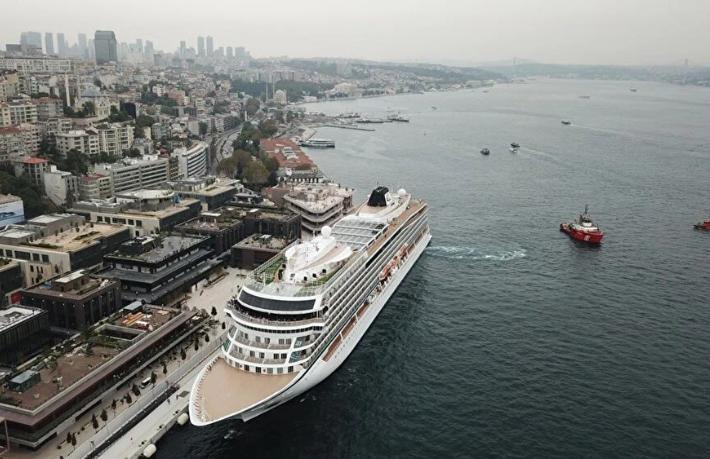 Galataport İstanbul'a ikinci yolcu gemisi