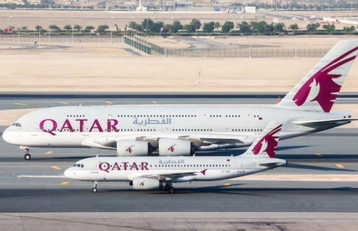 THY'den sonra Qatar Airways'in de uçuşları askıya alındı