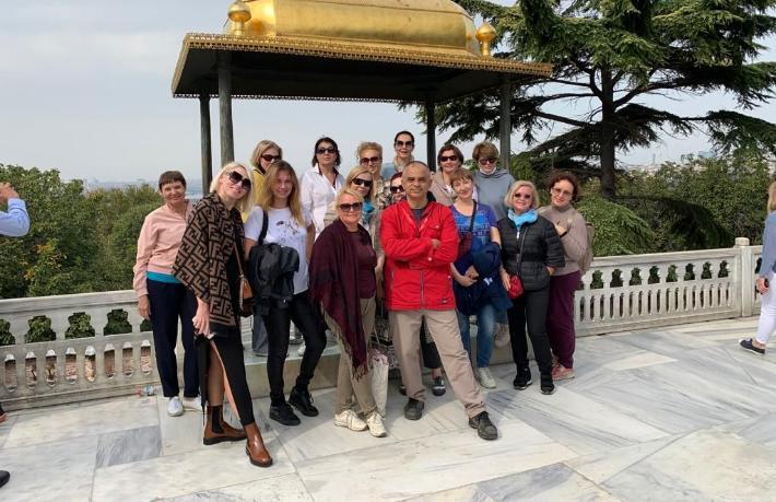 17 Rus seyahat acentesi Kapadokya'yı gezdi
