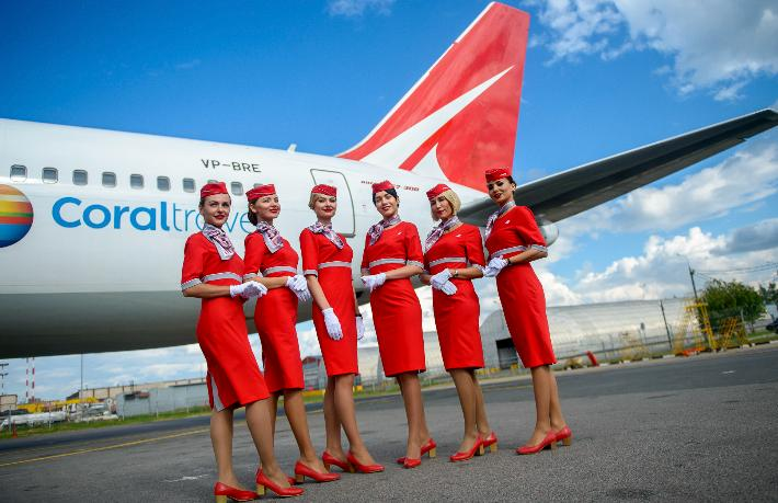 Coral Mısır'a charter uçuşları başlattı