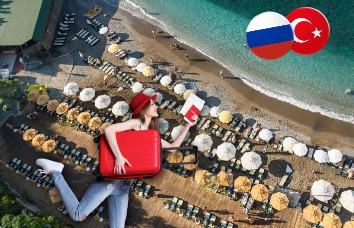Sezon sonunda ilaç gibi geldi... Rusya'dan Türkiye'ye Korona tatili akını