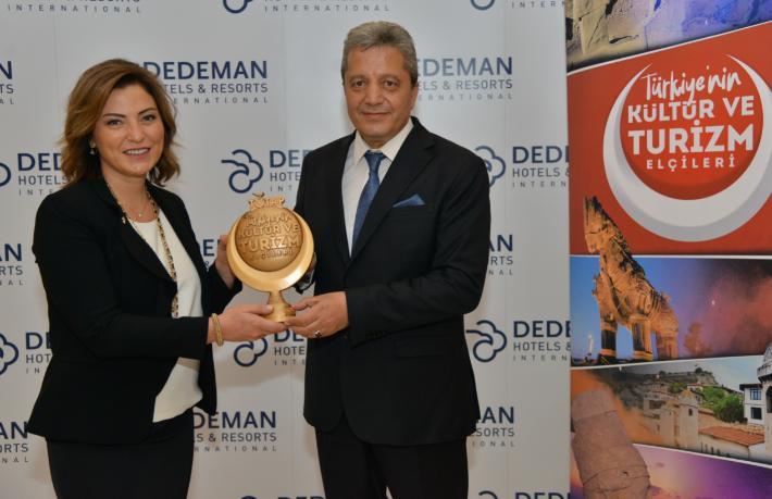 2021 Türkiye Tanıtma Platformu Ödülü Banu Dedeman'ın oldu