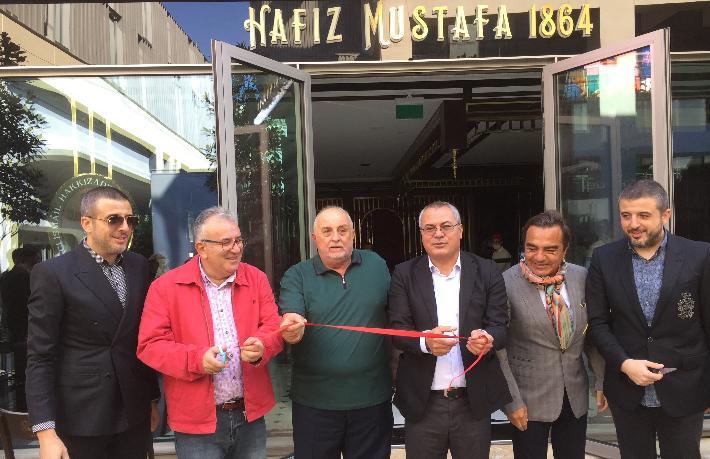 Hafız Mustafa 1864'ün yeni şubesi Galataport İstanbul'da açıldı