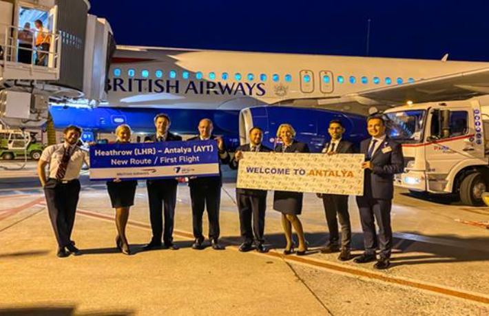 British Airways, Antalya uçuşlarına başladı