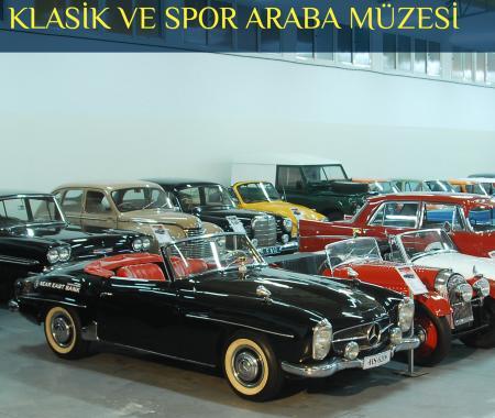 KKTC'de Araba Müzesi ile tarihe yolculuk
