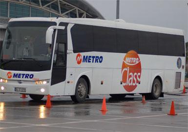 Metro Turizm yol kadrosu, Demir Bükey Akademi'de...