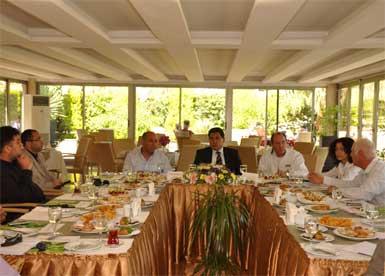 Kemer Otelciler Birliği, Ambassador Otel'de toplandı...