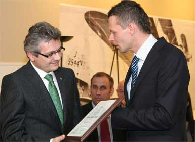 Türk şirketi Wezyr Holidays'e,  Polonya'da 2009 Kalite Ödülü...