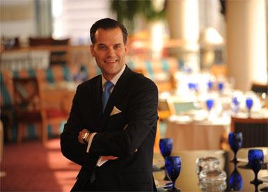 The Ritz-Carlton'un  yeni Genel Müdürü Martin Kleinmann...